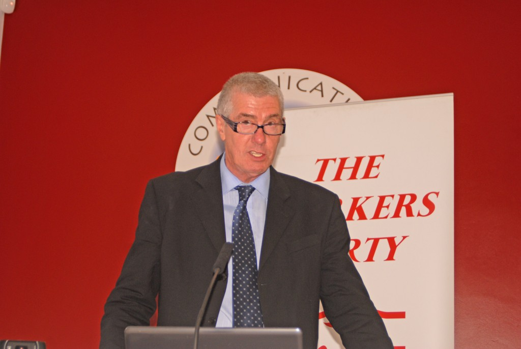 Workers Party President Michael Donnelly