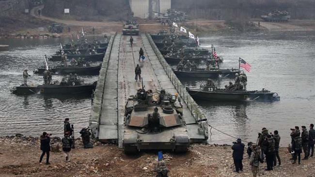US Exercises on Korean soil