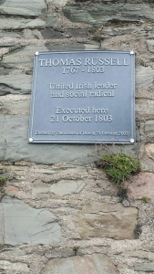 Thomas Russell Plaque