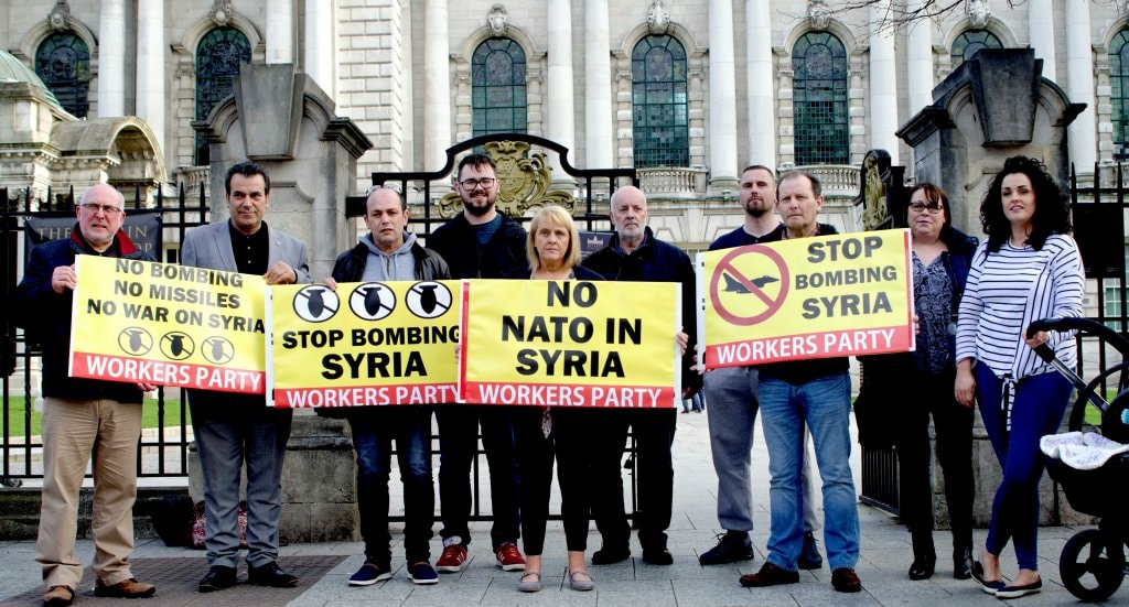 WP Belfast rally for Syria