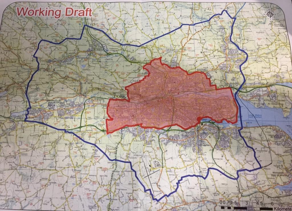 Cork new city boundary